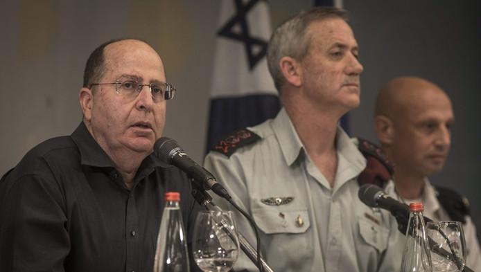 Moshé Yaalon, ministre israélien de la Défense