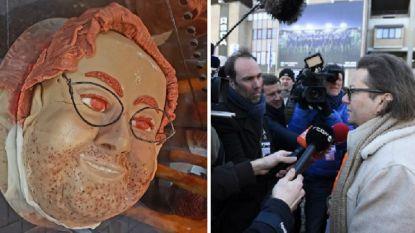 Coucke arriveert op Anderlecht door grote poort en krijgt zelfs een eigen taart