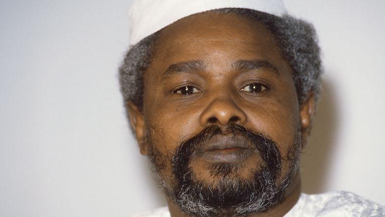 Hissène Habré Beeld AFP