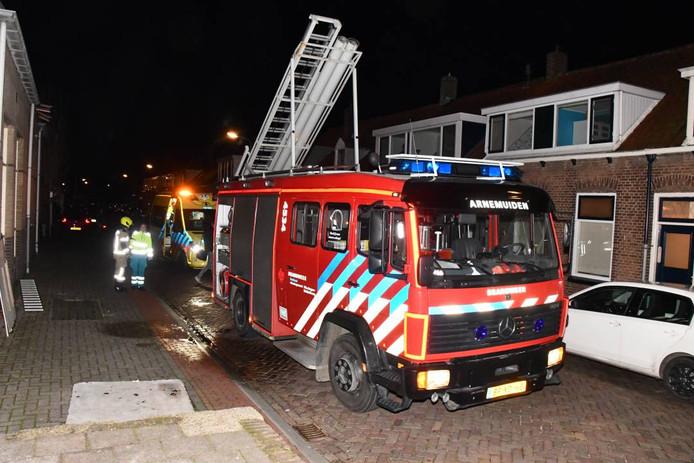 De brandweer heeft het vuur snel kunnen blussen.