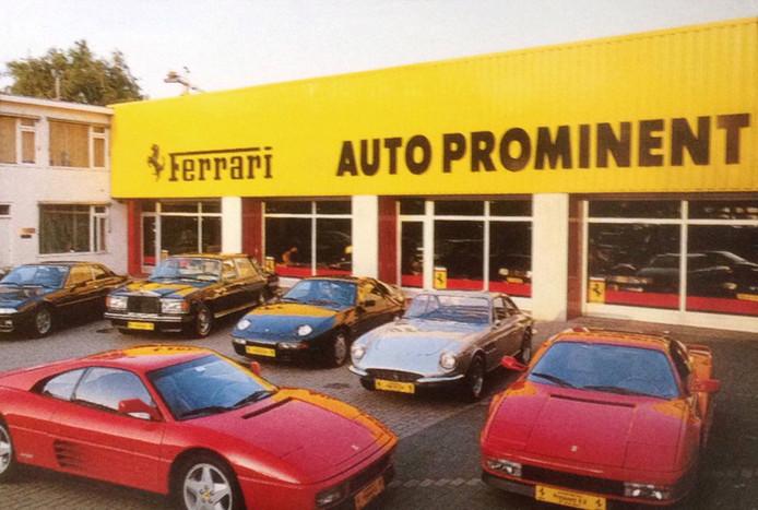 Auto Prominent zat tien jaar aan de Vestdijk in Eindhoven.