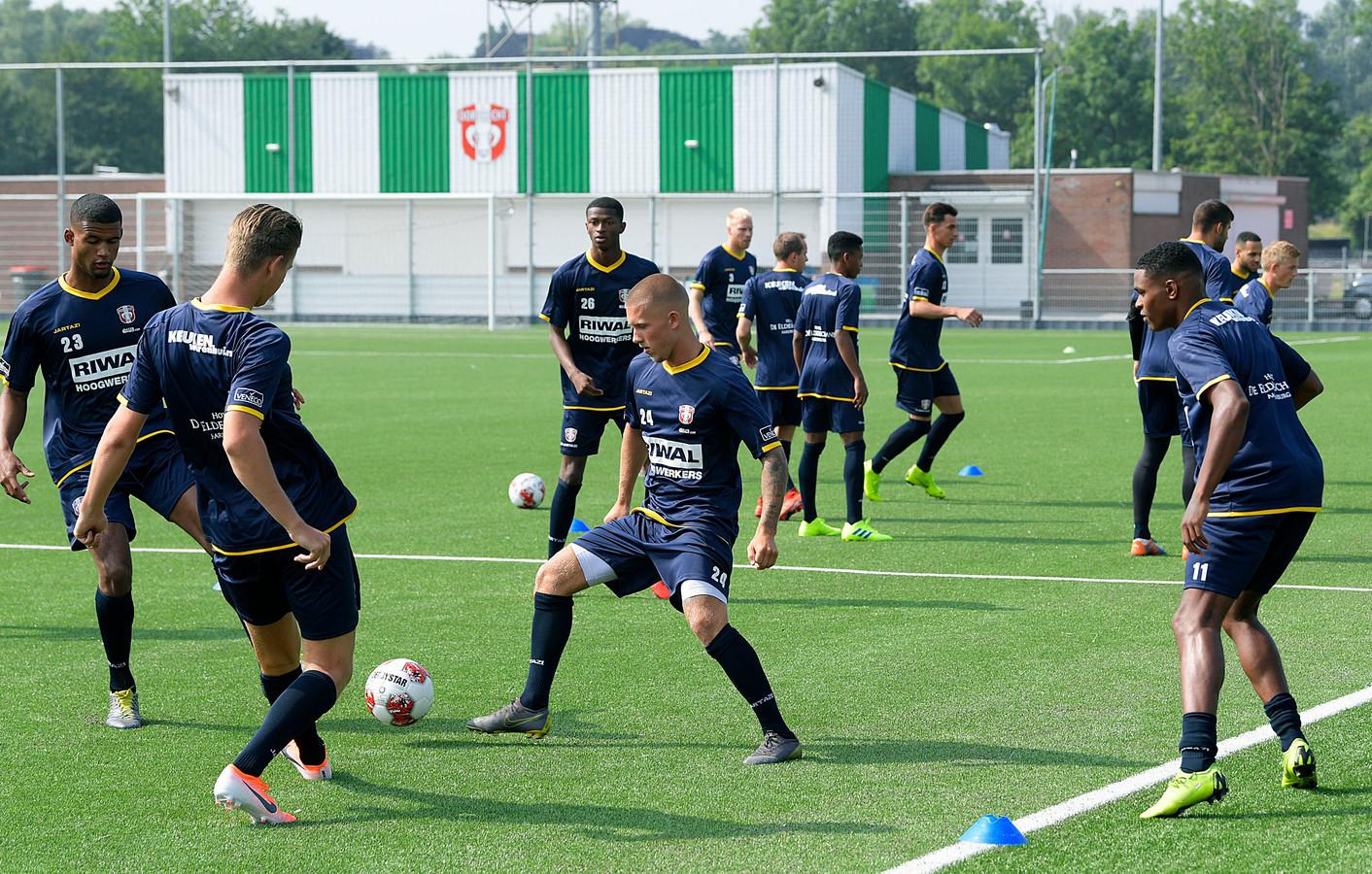 De eerste trainingen van het nieuwe team zijn al geweest.