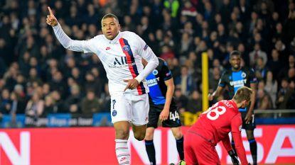 Drie goals én een assist: invaller Mbappé smeert Club Brugge forfaitnederlaag aan