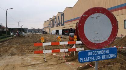 Nieuwe fase van grote wegenwerken in Toekomstlaan en Straalstraat