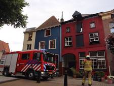 Brandje op dakterras in Doesburg
