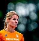 Training nederlandse atletiekploeg voor WK in Doha; Dafne Schippers  traint op Papendal. Foto ; Pim Ras