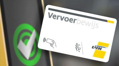 De Lijn vervangt magneetkaarten door elektronische wegwerpkaart