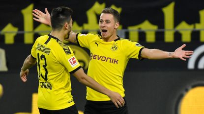Thorgan Hazard met goal en assist grote man bij Dortmund