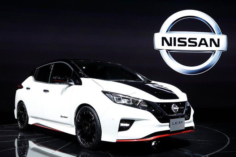 De Nissan Leaf Beeld epa