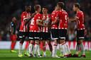 PSV scoorde vanavond vier keer tegen FC Utrecht.