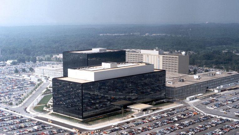 Het hoofdkwartier van de NSA op Fort Meade in Maryland. Beeld epa