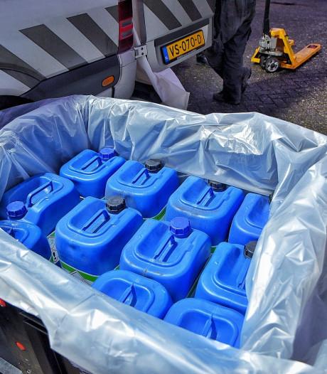 'Tikkende tijdbom': 5000 liter zeer ontvlambare stoffen gevonden middenin woonwijk Bergen op Zoom