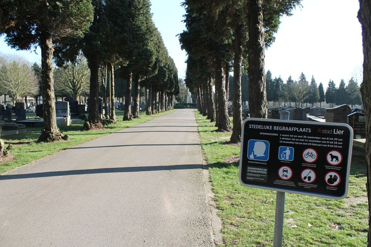 De stedelijke begraafplaats Kloosterheide.