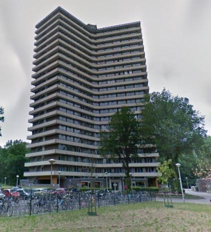 De sterflat Bornsesteeg in Wageningen.