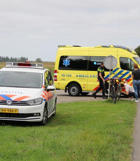 Fietser gewond na aanrijding in Arnemuiden