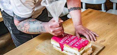 Tilburg heeft er gebak van: de 'Fuck Corona-tompouce'