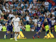 Real Madrid niet langs Real Valladolid in eigen huis
