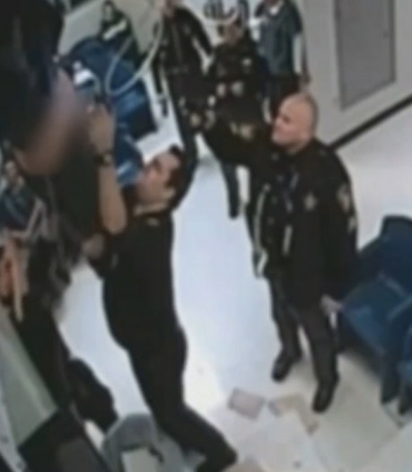 L'évasion ratée d'une détenue filmée par une caméra de surveillance