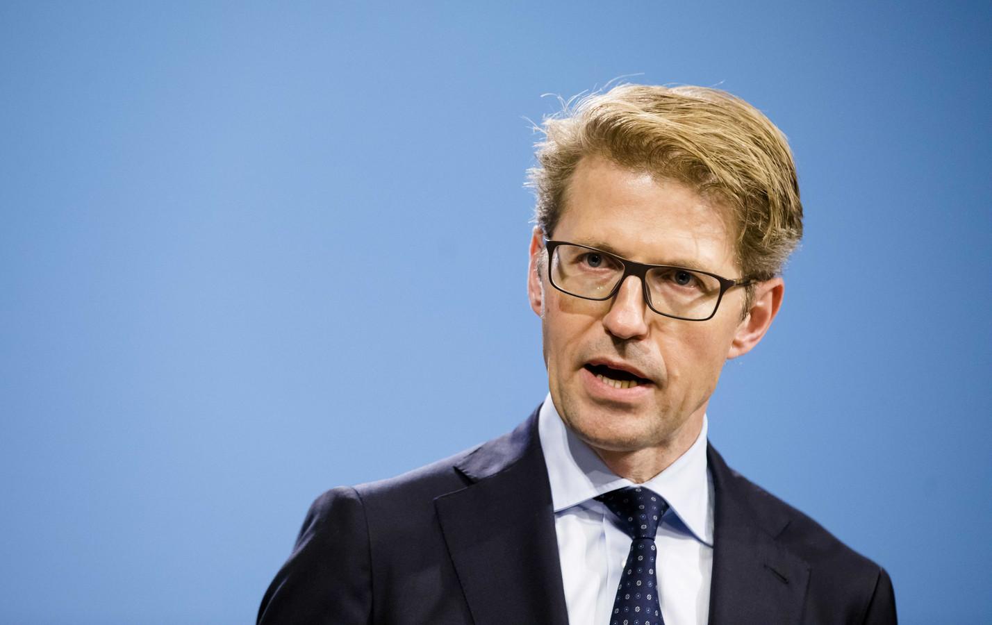 Minister Sander Dekker voor Rechtsbescherming