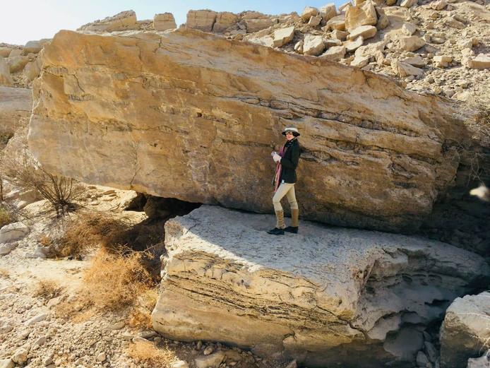 Op drie plaatsen zijn rotstekeningen gevonden die dateren van voor de eerste farao's