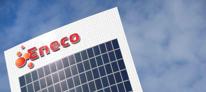 Het hoofdkantoor van energieleverancier Eneco bij Rotterdam Alexander