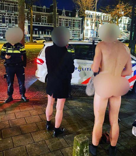 Hardlopen in je nakie, midden in nacht: 'Sorry agent, ik heb geen ID-bewijs bij me...'