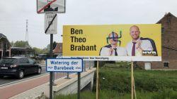 Affiches hangen pas enkele dagen op, maar nu al hakenkruis over Ben Weyts geschilderd