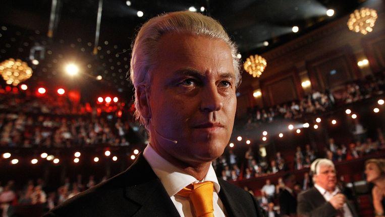 Geert Wilders, eerder deze week bij het EenVandaag-debat Beeld anp