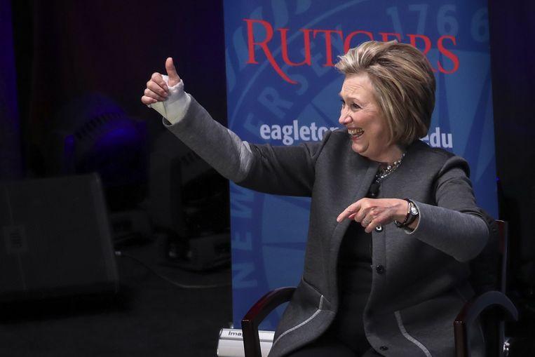 De valse video van Clinton werd gretig overgenomen door pornosites.