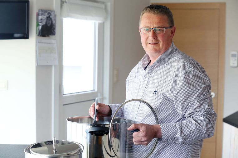 Marc Devrome nam in 2017 nog deel aan het kookprogramma Komen Eten op Vier.