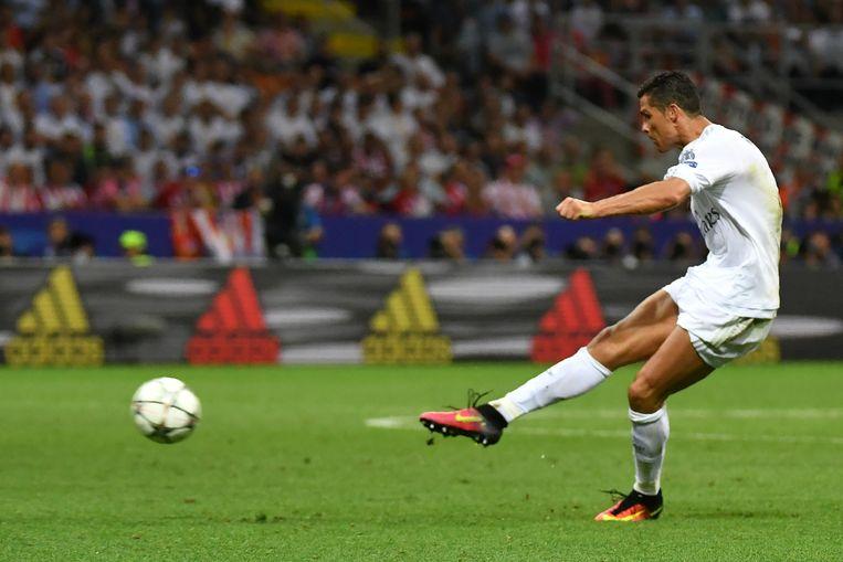Want Ronaldo trapt meteen daarna raak en schenkt 'de Koninklijke' de Champions League.