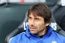 Antonio Conte als coach van Chelsea in 2018.