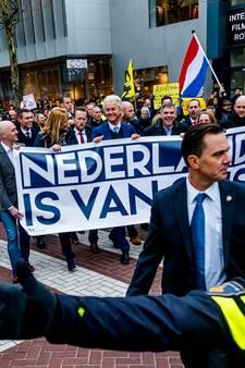 Terugblik: Protest van PVV verloopt rustig