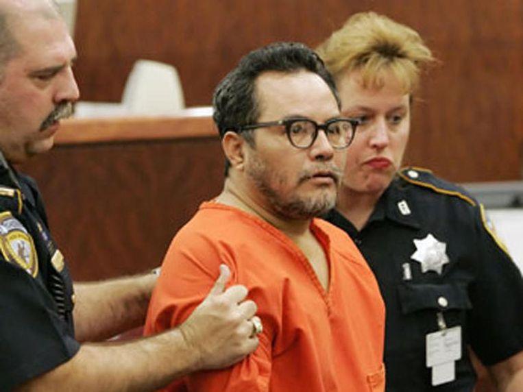 Angel Maturino Resendiz in de rechtszaal.