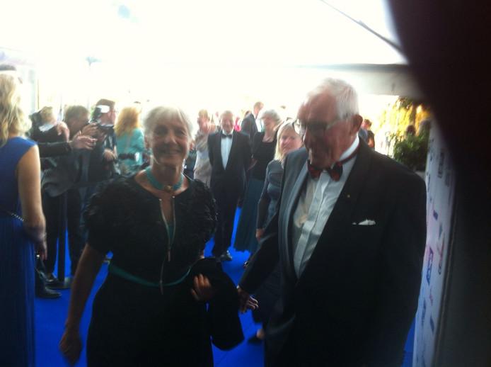 Oud-burgemeester van Vlissingen Jaap van der Doef en zijn echtgenote waren ook aanwezig