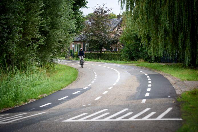 Het Boord in Nuenen is een geliefde sluiproute voor automobilisten die de files op de Europalaan en Sterrenlaan proberen te ontwijken.