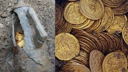 Honderden gouden munten ontdekt in oud Romeins theater in Como