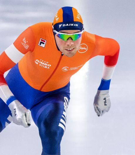 Roest deelt stevige tik uit op 5000 meter EK Allround: 'Had meer verwacht van Pedersen en Swings'