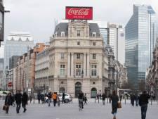 Le collège bruxellois pas unanime sur la suppression de la pub Coca-Cola place De Brouckère