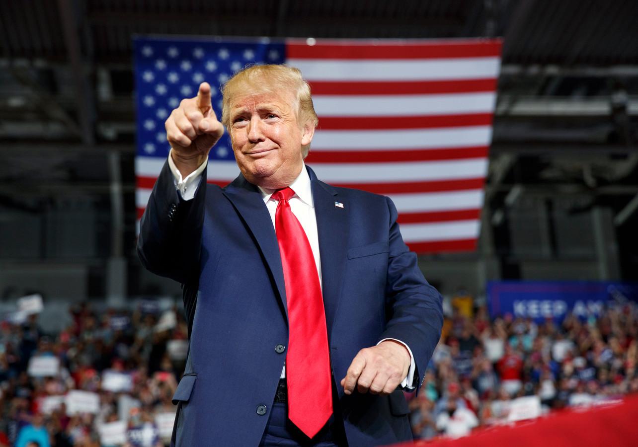 Donald Trump à Greenville, en Caroline du Nord.