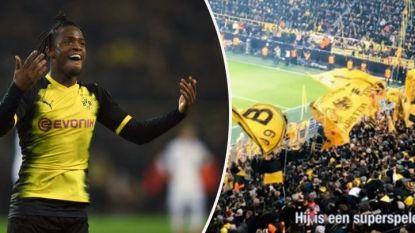 """""""Beter dan Aubameyang"""" en """"elke week scoren voor die magnifieke gele muur"""": Gelbe Wand en Batshuayi zijn een 'match made in heaven'"""