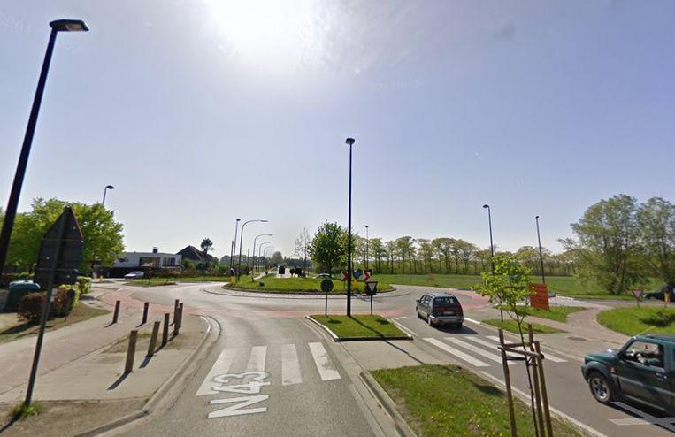 Op het kruispunt met de Klapstraat gebeurde het ongeval.