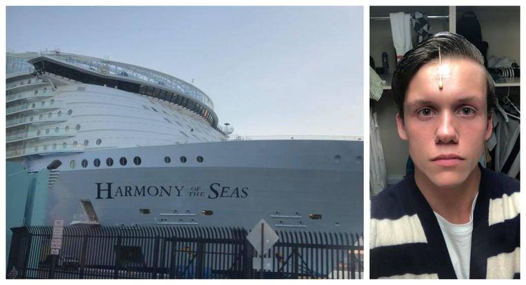 Arron Hough is musicalartiest op het cruiseschip Harmony of the Seas.