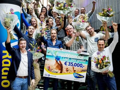 Theo uit Dronten wint jaar lang gratis leven: Een heerlijk gevoel