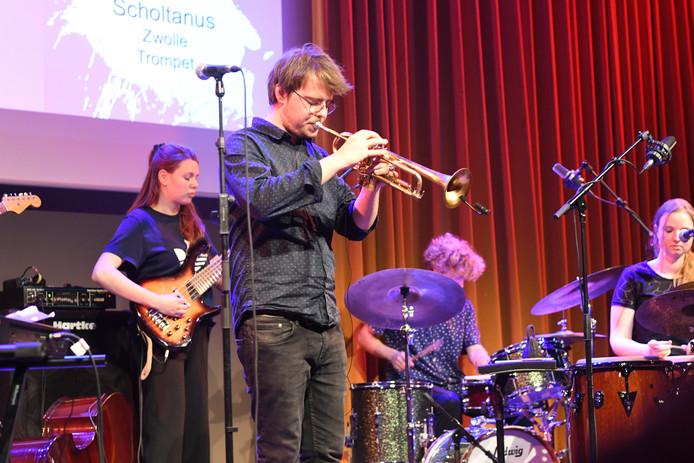 Trompettist Jurgen Scholtanus uit Zwolle