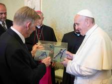 Jan Dijkema uit Tubbergen stond oog in oog met paus Franciscus