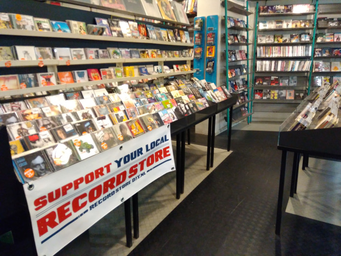 Record Store Day bij de CD Kiosk in de Schakel, 22 april.