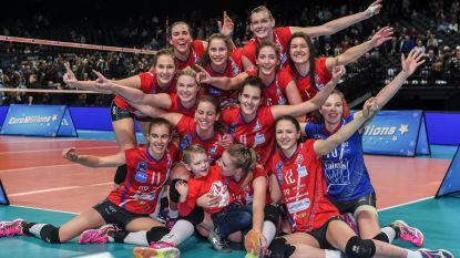 Asterix viert vijfde titel op rij in het vrouwenvolleybal