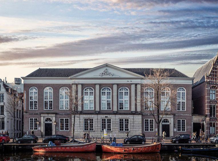 Het Compagnietheater (Kloveniersburgwal) Beeld Martin Dijkstra