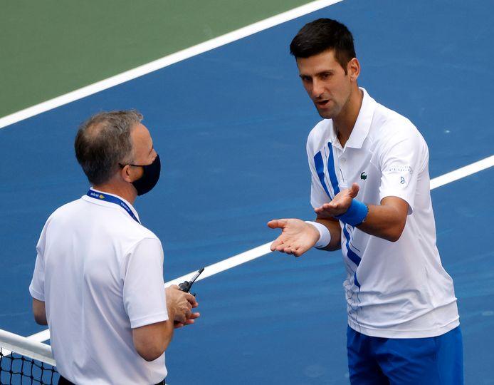 Djokovic probeerde nog te ontsnappen aan zijn diskwalificatie, maar dat lukte niet.
